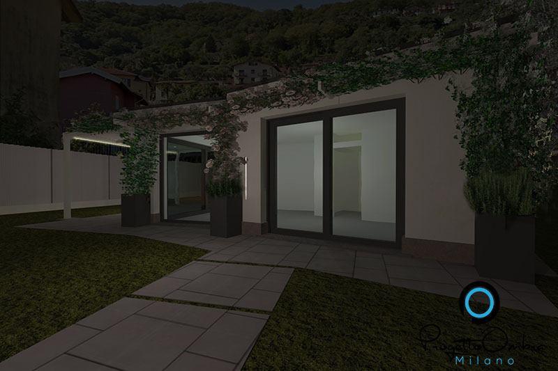 Stato di progetto lago di Como