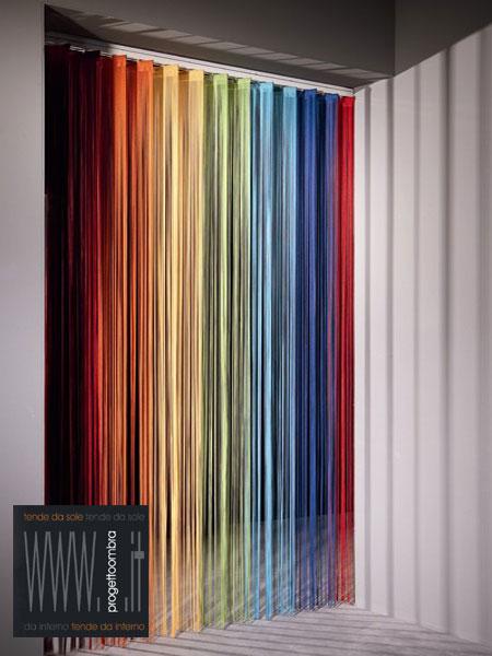 Tende a filo verticali orientabili for Tende a fili per interni