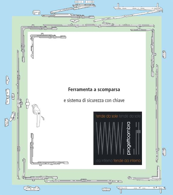 FERRAMENTA A SCOMPARSA  CHIAMACI AL 0258315644 CHIEDI IL TUO PREVENTIVO O INVIACI LE MISURE
