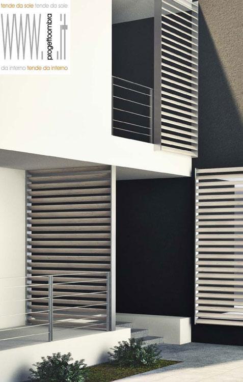 Pannelli frangisole per terrazzi