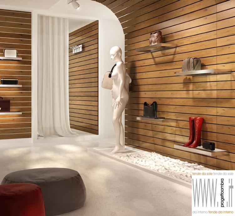 Frangisole e pareti il legno e composito di progetto ombra milano - Rivestire parete con legno ...