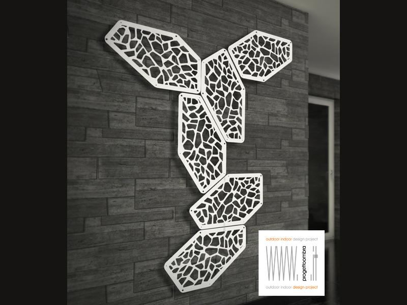 Unico elemento decorativo componibile per far arrampicare o semplicemente per abbellire terrazzi e balconi , sono pezzi unici che studiamo per il cliente .tel 0258315644