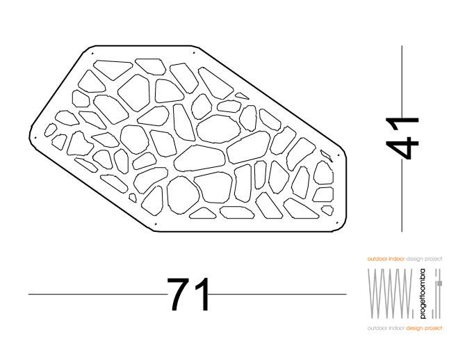 risott  ,unico elemento decorativo componibile per far arrampicare o semplicemente per abbellire  .tel 0258315644