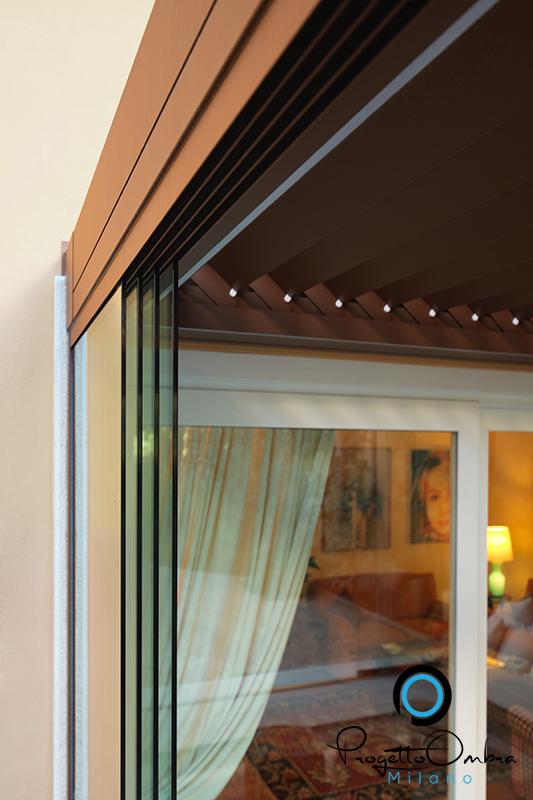Tende per verande a vetri - Oscurare vetri casa ...