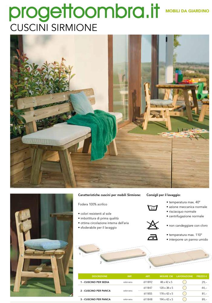 Mobili da giardino e arredamento per esterni - Mobili per esterni in legno ...