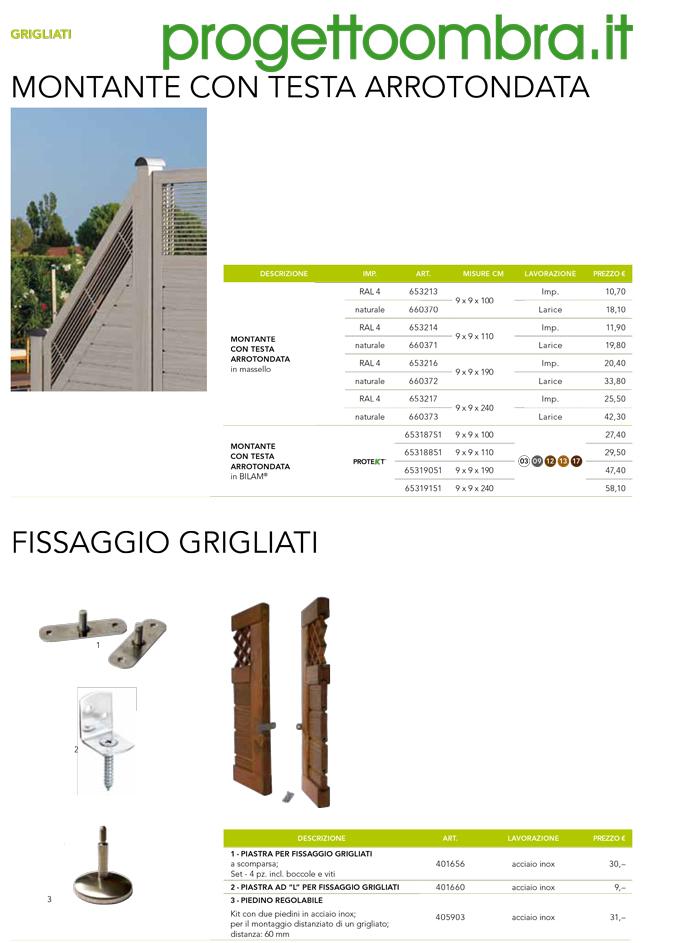 GRIGLIATO MODERNO PER RECINZIONE 0258315644