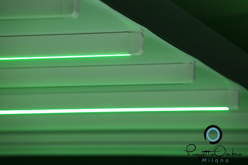 Unici i led studiati da pratic per illuminare bioclimatiche