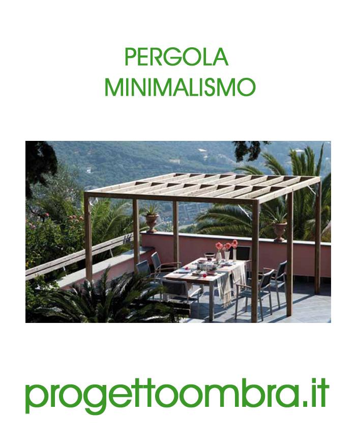 PERGOLA AUTOPORTANTE MINIMAL 0258315644