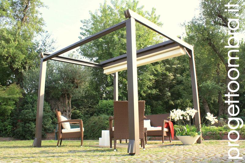 pergola moderna minimal di designer innovativo. Black Bedroom Furniture Sets. Home Design Ideas