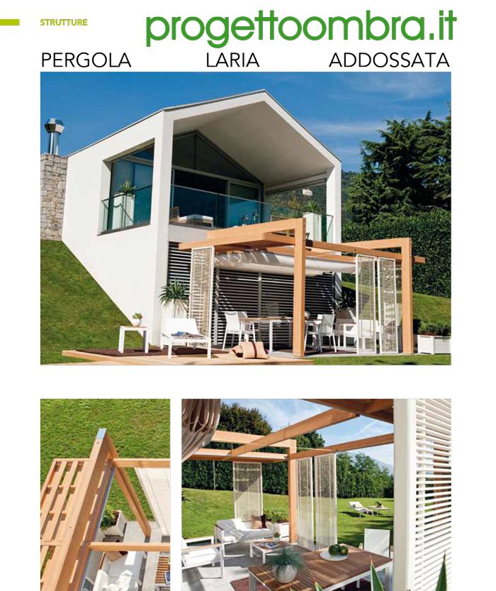 PERGOLA LARIA ADDOSSATA PER GIARDINI 0258315644
