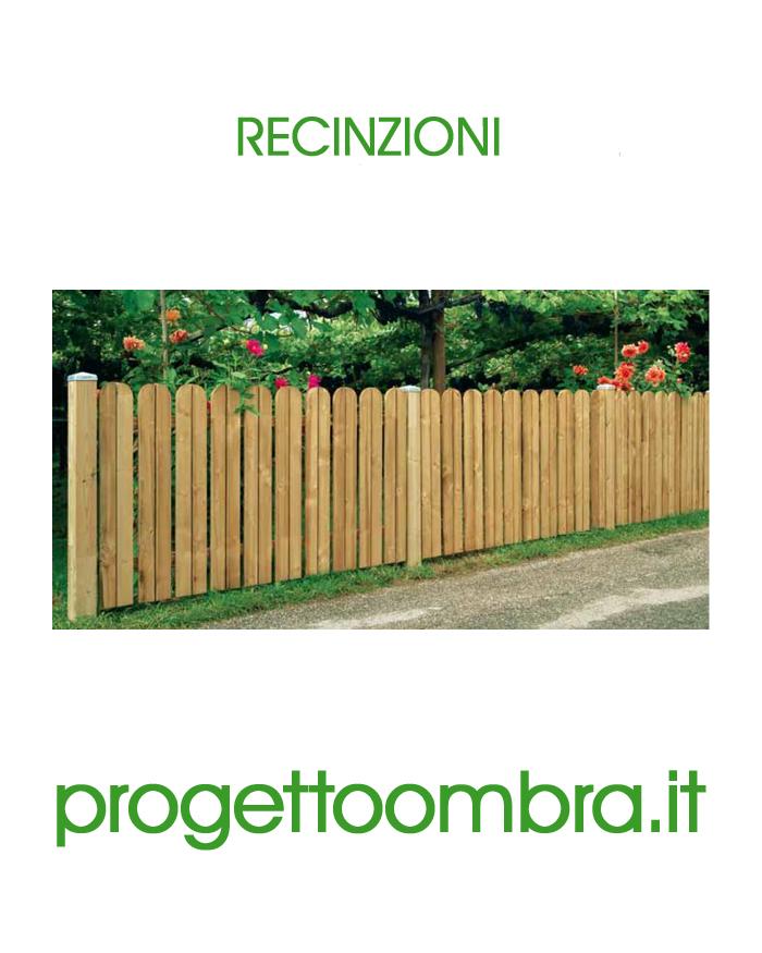 Staccionate recinzioni in legno per giardini e terrazzi for Recinzioni giardino legno