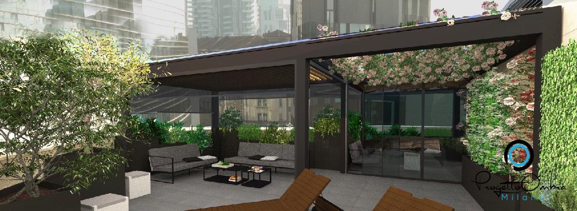 Progettazione di giardini e terrazzi milano - Terrazzi di design ...