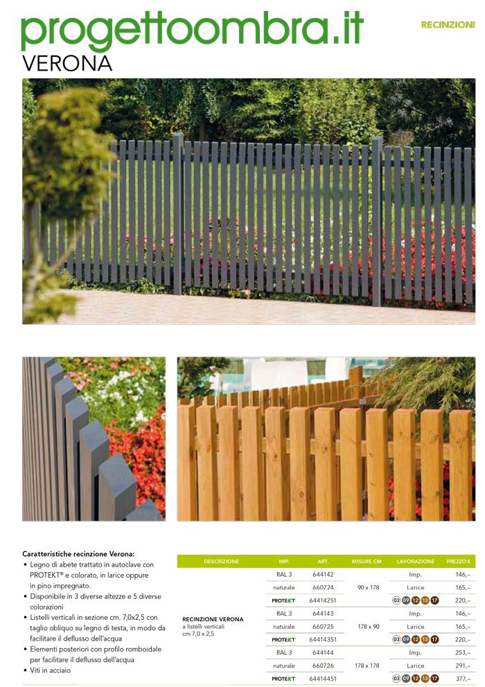 Palizzate in legno per giardino palizzata per terra for Recinzioni in legno brico