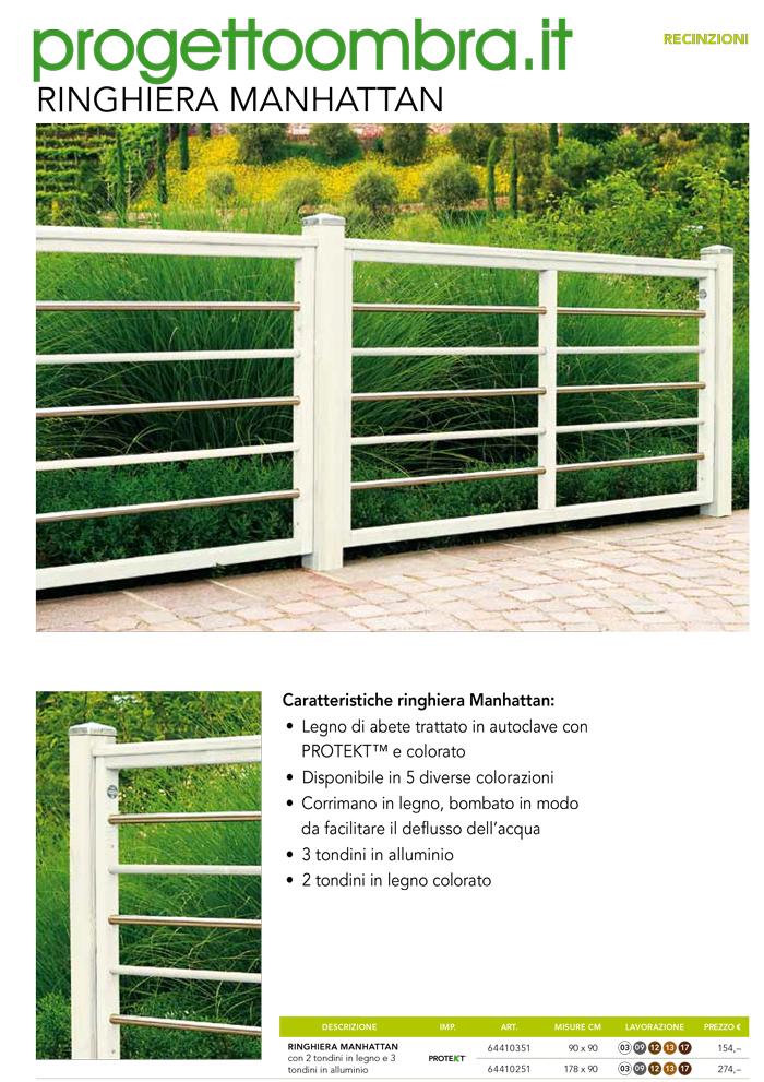 Staccionate recinzioni in legno per giardini e terrazzi - Ringhiere per giardino ...