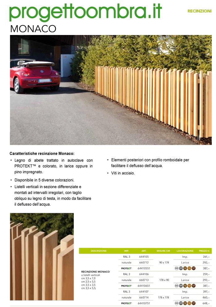 Staccionate recinzioni in legno per giardini e terrazzi - Staccionate in legno per giardino ...