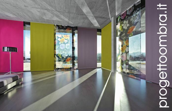 Tende Per Interni Milano : Tessuti per tendaggi d interno a milano
