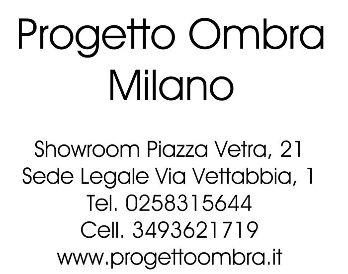 PROGETTO OMBRA MILANO-VENDITA TETTOIE