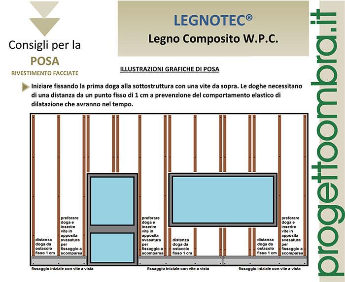 FACCIATA IN LEGNO COMPOSITO WPC VARESE 0258315644