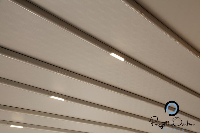Luce da esterno per pergole verande