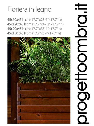 FIORIERA IN LEGNO CORRADI 0258315644
