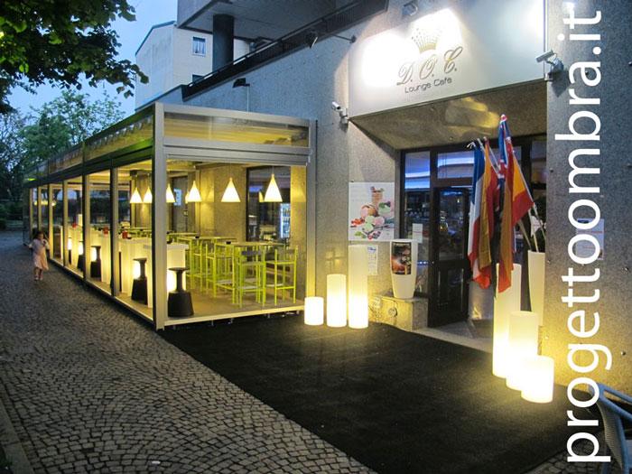 LOUNGE CAFFE PERGOLA IN ALUMINIO 0258315644