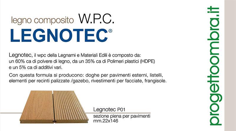PEDANE ESTERNE LEGNOTEC WPC MILANO 0258315644