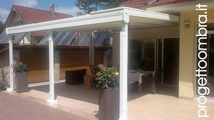 Pergole in alluminio acciaio e legno pergolati - Costo giardino d inverno ...