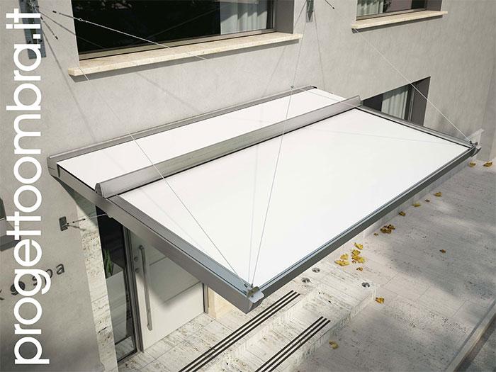 Best pensiline per terrazzi contemporary idee arredamento casa pensiline