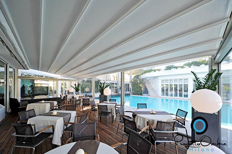 HOTEL ARREDATI CON PERGOTENDA MILLENIUM MODERNE