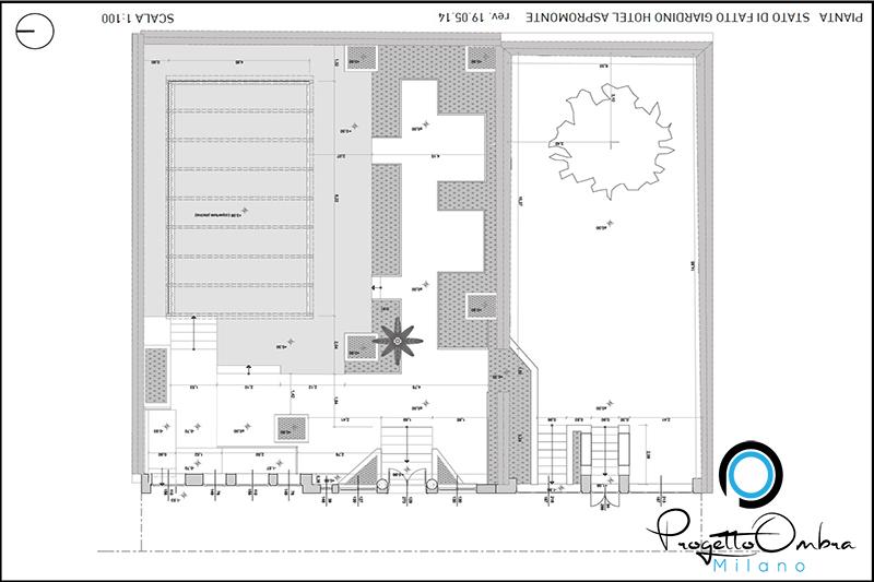 PLANIMETRIA - PROGETTO HOTEL