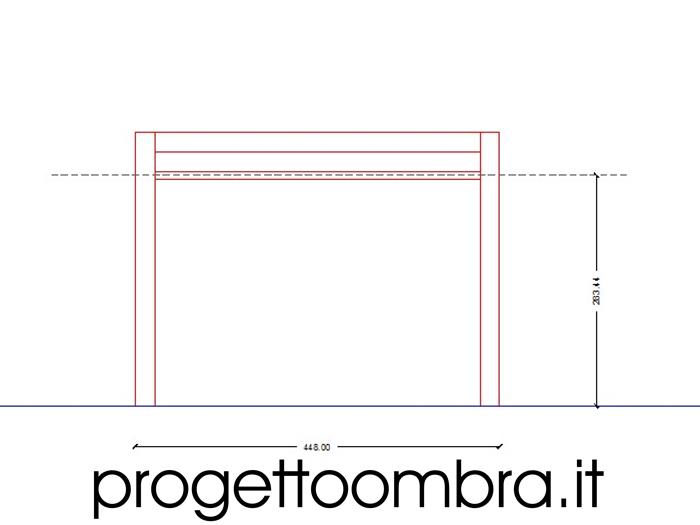PROGETTAZIONE PERGOLE PER ESTERNI 0258315644