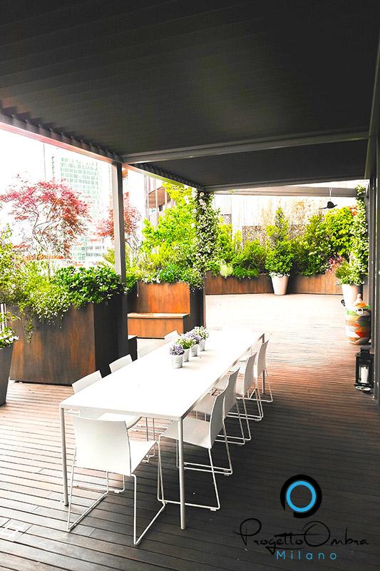 progettazione terrazzo milano