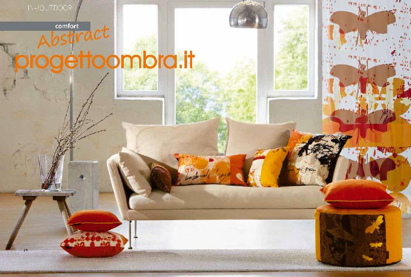 VENDITA DI n.6 CUSCINI compreso il pouf PER ESTERNI ED INTERNI 0258315644-escluso tappeto-divano-tenda-lampada