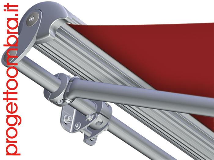 Tende Per Esterni Resistenti Al Vento.Tenda Motorizzata In Acciaio Resistente Al Vento