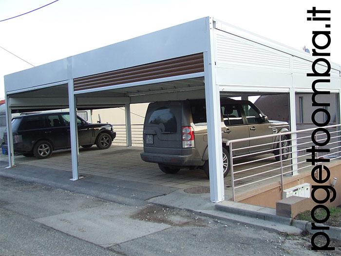 Pergole autoportante per auto anche a sbalzo su progettazione for Progettazione di garage per auto
