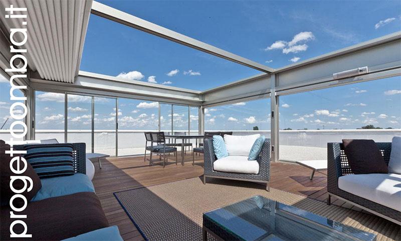 Pergolato veranda kubo cubo - Verande su terrazzi ...