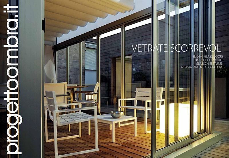 Vetrate scorreoli per verande for Vetrate scorrevoli